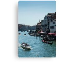Venice Highway Canvas Print