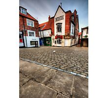 Whitby Old Town Photographic Print