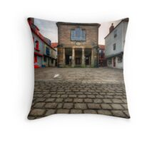 Whitby Old Town Throw Pillow
