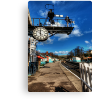 8 Minutes to 12 Canvas Print