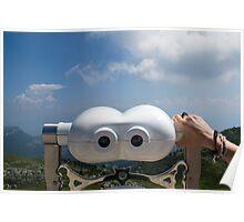 Tourist Sight Viewer Poster