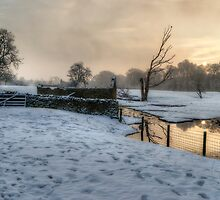 Baby Its Cold Outside by English Landscape Prints
