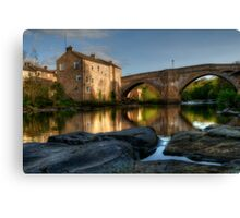 County Bridge, Barnard Castle Canvas Print
