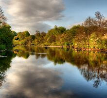 The River Tees by English Landscape Prints