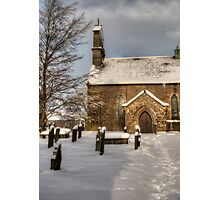 St Giles Church, Bowes Photographic Print