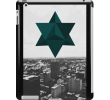 Star Tetrahedron Descent iPad Case/Skin