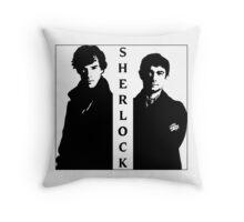 Sherlock & Watson Throw Pillow