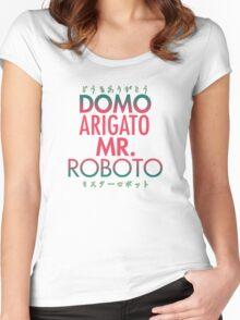 Domo Arigato Mr. Roboto Women's Fitted Scoop T-Shirt