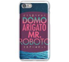 Domo Arigato Mr. Roboto iPhone Case/Skin