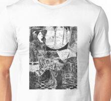 """I Am Half-Sick of Shadows,"" Said the Lady of Shalott after John William Waterhouse. Unisex T-Shirt"