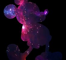 Mickey lives in the universe. by bohome