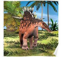 Dinosaur Kentrosaurus Poster