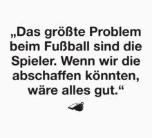 FUSSBALL IST MEIN LEBEN V by eyesblau
