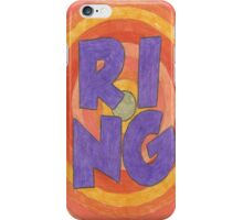 Four Letter Words, RING iPhone Case/Skin