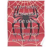 Half Spider - Half Man Poster