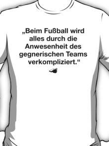FUSSBALL IST MEIN LEBEN VI T-Shirt