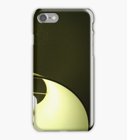 Green Lamp iPhone Case/Skin