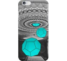 Dodecahedron Manifestation iPhone Case/Skin