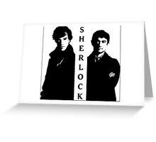 Sherlock & Watson Greeting Card