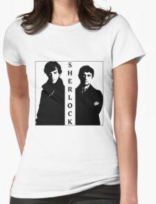 Sherlock & Watson Womens Fitted T-Shirt