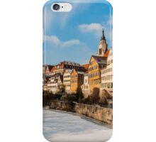 Tübingen - View from the Neckar Bridge iPhone Case/Skin