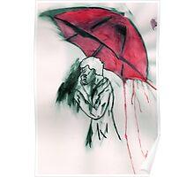 Sherlock in Red Poster