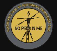 Hanging Knee Raise - My Performance Enhancement Drug Kids Tee