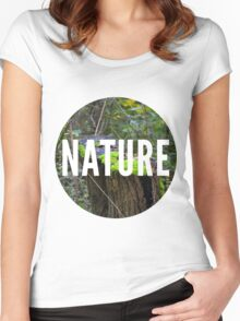 Nature Women's Fitted Scoop T-Shirt