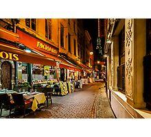Rue des Bouchers Photographic Print