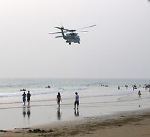 Choppers at the beach? by PeteMcBrearty