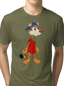 Cartoon tiger Tri-blend T-Shirt
