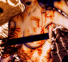 Scars Of Love Sticker