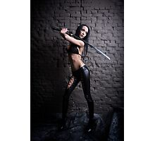 Blade Dancer Photographic Print