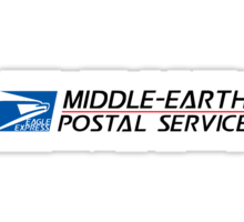 Middle-earth Postal Service Sticker