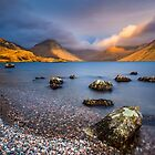 Wasdale sunset by John Finney