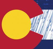 Colorado Rain Flag Sticker