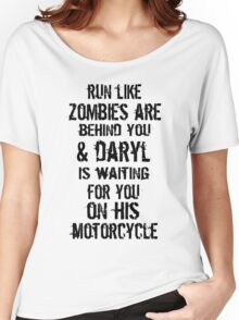 Run Like Daryl Is Waiting Women's Relaxed Fit T-Shirt