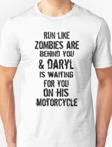 Run Like Daryl Is Waiting Unisex T-Shirt