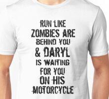 Run Like Daryl Is Waiting Unisex T-Shirt