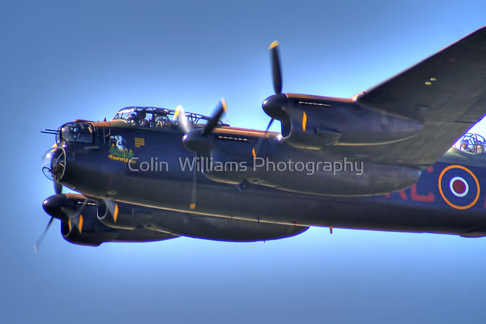 BBMF Lancaster - Thumper 3 HDR - Shoreham 2013 by Colin  Williams Photography