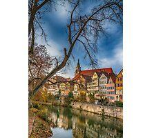 Tübingen - View from the Neckar Bridge 2 Photographic Print