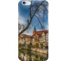 Tübingen - View from the Neckar Bridge 2 iPhone Case/Skin