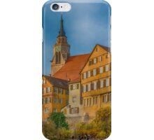 Tübingen - View from the Neckar Bridge 4 iPhone Case/Skin