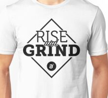 Rise and Grind Black Tee Unisex T-Shirt
