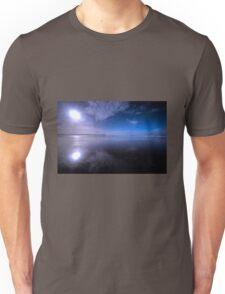 Woolacombe Beach in Blue  Unisex T-Shirt