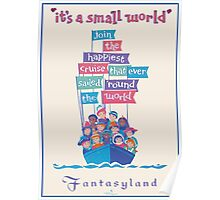 It's a Small World Poster Poster
