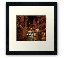 Tübingen at Christmas 2 Framed Print
