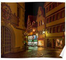Tübingen at Christmas 2 Poster