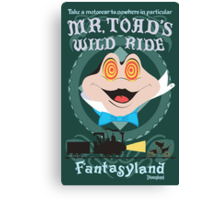 Mr. Toad's Wild Ride Canvas Print