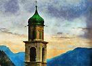 Chiesa di San Benedetto, Limone Sul Garda, Italy by buttonpresser